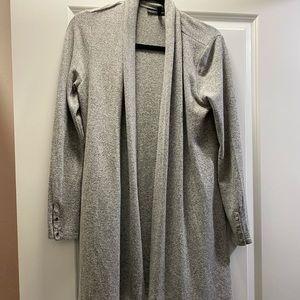 NEW: long gray sweater